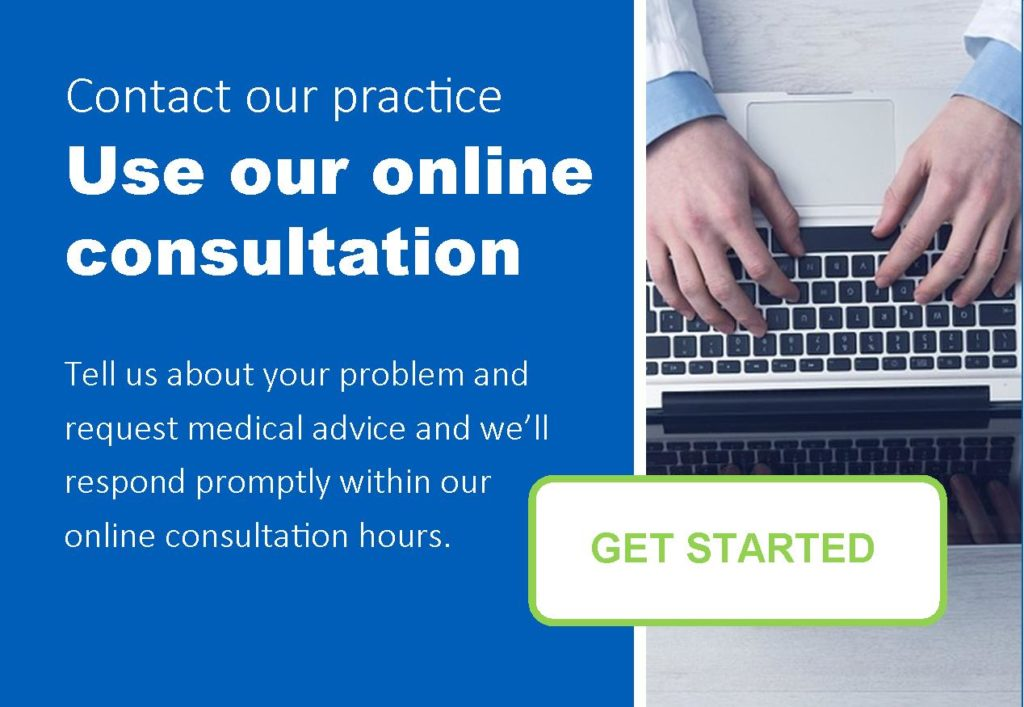 image reading contact our practice, use our online consultation.
